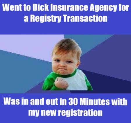 Registry Meme